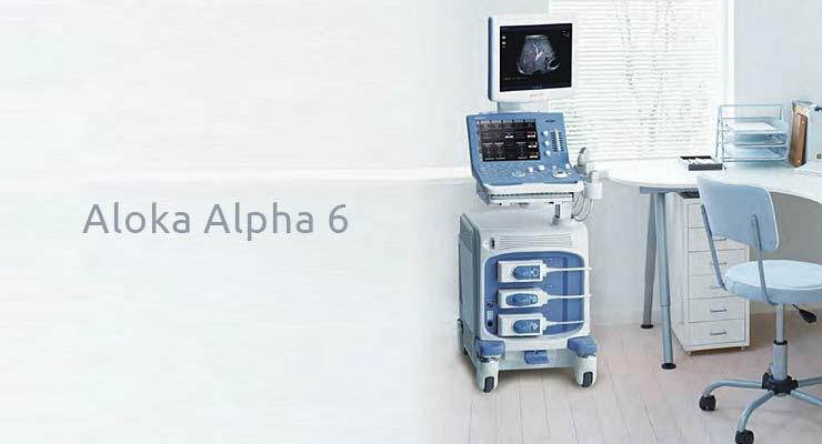 Aparat Aloka alpha 6